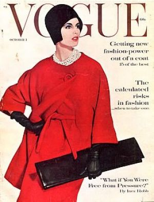 Vintage Vogue magazine covers - wah4mi0ae4yauslife.com - Vintage Vogue October 1960.jpg