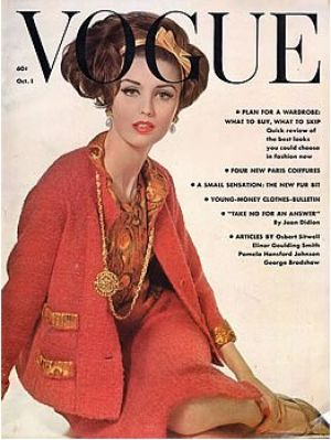 Vintage Vogue magazine covers - mylusciouslife.com - Vintage Vogue October 1961.jpg