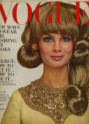 Vintage Vogue magazine covers - mylusciouslife.com - Vintage Vogue October 1966.jpg