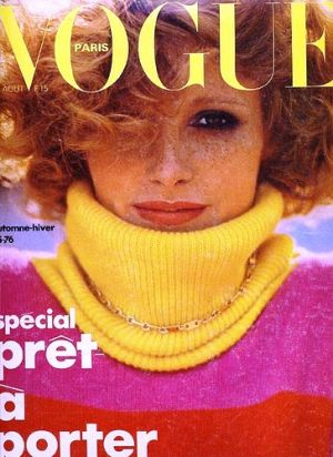 Vintage Vogue magazine covers - mylusciouslife.com - Vintage Vogue Paris August 1975.jpg