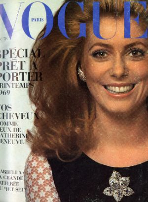 Vintage Vogue magazine covers - mylusciouslife.com - Vintage Vogue Paris February 1969.jpg