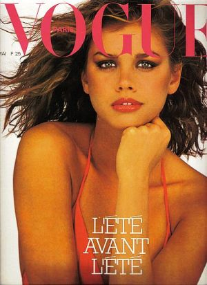 Vintage Vogue magazine covers - mylusciouslife.com - Vintage Vogue Paris May 1979 - Debbie Dickinson.jpg