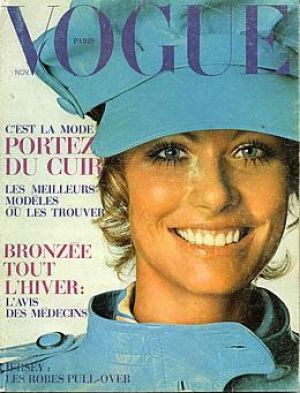 Vintage Vogue magazine covers - mylusciouslife.com - Vintage Vogue Paris November 1969.jpg