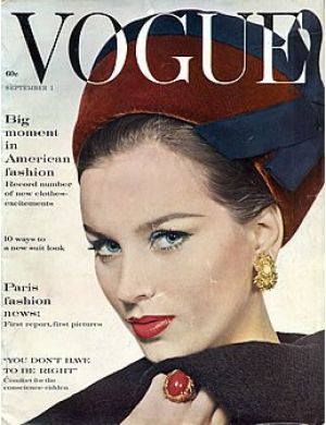 Vintage Vogue magazine covers - mylusciouslife.com - Vintage Vogue September 1960_2.jpg