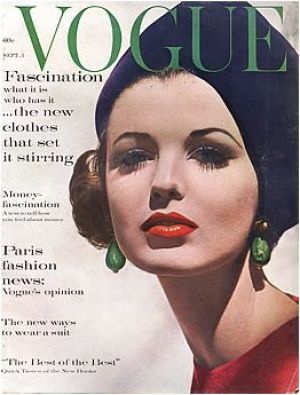 Vintage Vogue magazine covers - wah4mi0ae4yauslife.com - Vintage Vogue September 1961.jpg
