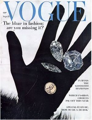 Vintage Vogue magazine covers - mylusciouslife.com - Vintage Vogue September 1962.jpg