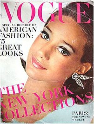 Vintage Vogue magazine covers - mylusciouslife.com - Vintage Vogue September 1965 - Marisa Berensen.jpg