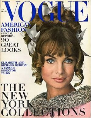 Vintage Vogue magazine covers - mylusciouslife.com - Vintage Vogue September 1967.jpg
