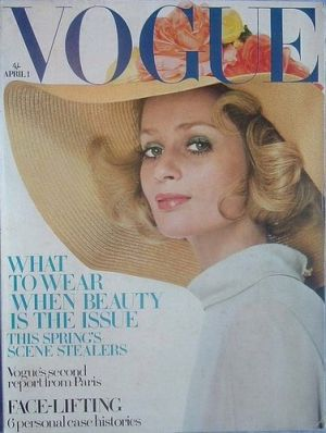 Vintage Vogue magazine covers - mylusciouslife.com - Vintage Vogue UK April 1968.jpg