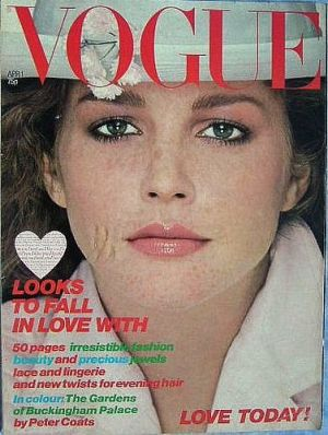 Vintage Vogue magazine covers - mylusciouslife.com - Vintage Vogue UK April 1978.jpg