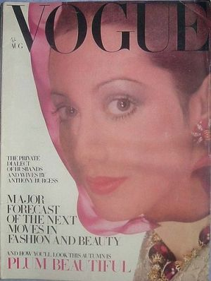 Vintage Vogue magazine covers - mylusciouslife.com - Vintage Vogue UK August 1968.jpg