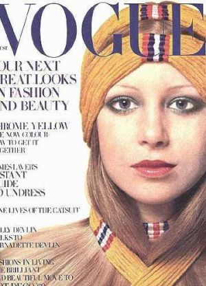 Vintage Vogue magazine covers - mylusciouslife.com - Vintage Vogue UK August 1969 - Pattie Boyd.jpg