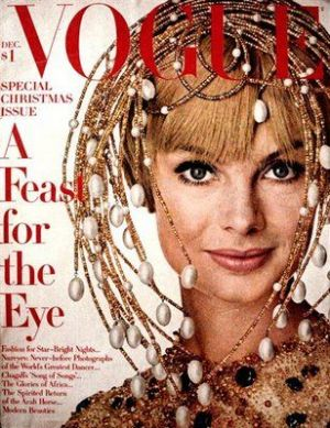 Vintage Vogue magazine covers - mylusciouslife.com - Vintage Vogue UK December 1967 - Jean Shrimpton.jpg