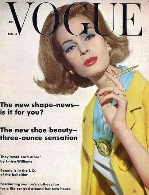 Vintage Vogue magazine covers - wah4mi0ae4yauslife.com - Vintage Vogue UK February 1962.jpg