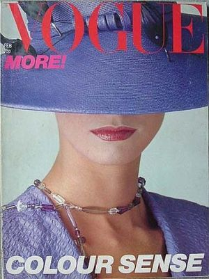 Vintage Vogue magazine covers - mylusciouslife.com - Vintage Vogue UK February 1979.jpg