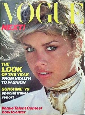 Vintage Vogue magazine covers - mylusciouslife.com - Vintage Vogue UK January 1979.jpg