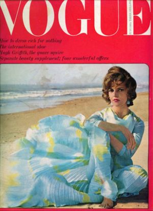 Vintage Vogue magazine covers - mylusciouslife.com - Vintage Vogue UK June 1964.jpg