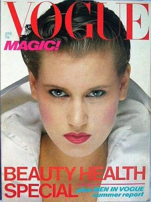 Vintage Vogue magazine covers - mylusciouslife.com - Vintage Vogue UK June 1978.jpg