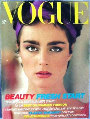 Vintage Vogue magazine covers - mylusciouslife.com - Vintage Vogue UK June 1979.jpg