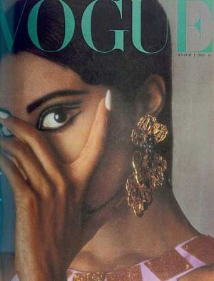 Vintage Vogue magazine covers - wah4mi0ae4yauslife.com - Vintage Vogue UK March 1966 - Donyale Luna.jpg