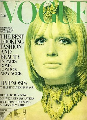 Vintage Vogue magazine covers - mylusciouslife.com - Vintage Vogue UK March 1969 - Susan Murray.jpg