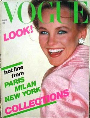 Vintage Vogue magazine covers - mylusciouslife.com - Vintage Vogue UK March 1979.jpg