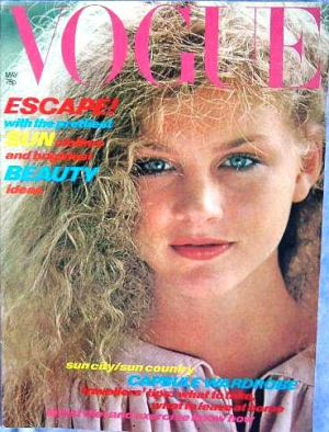 Vintage Vogue magazine covers - mylusciouslife.com - Vintage Vogue UK May 1978.jpg