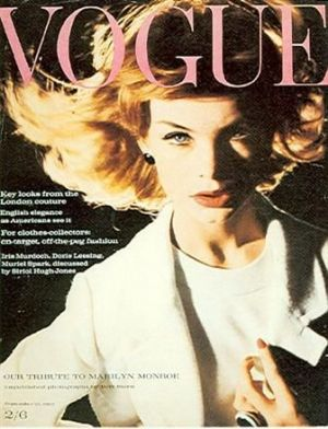 Vintage Vogue magazine covers - mylusciouslife.com - Vintage Vogue UK November 1962.jpg