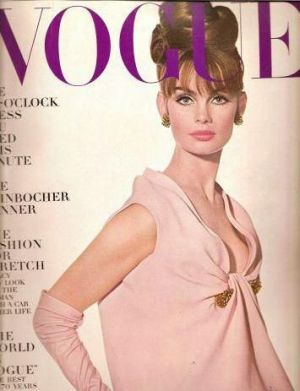 Vintage Vogue magazine covers - mylusciouslife.com - Vintage Vogue UK November 1963 - Jean Shrimpton2.jpg