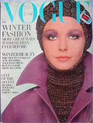 Vintage Vogue magazine covers - mylusciouslife.com - Vintage Vogue UK November 1969 - Maudie James.jpg