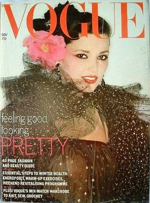 Vintage Vogue magazine covers - mylusciouslife.com - Vintage Vogue UK November 1977.jpg