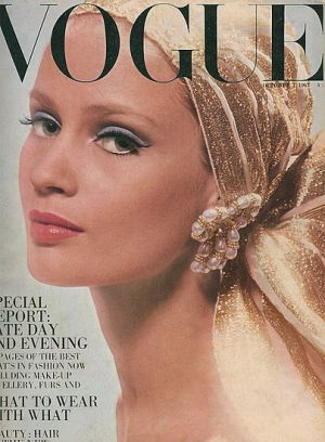 Vintage Vogue magazine covers - mylusciouslife.com - Vintage Vogue UK October 1967 - Celia Hammond.jpg