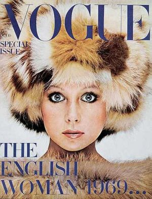 Vintage Vogue magazine covers - mylusciouslife.com - Vintage Vogue UK October 1969 - Patti Boyd.jpg