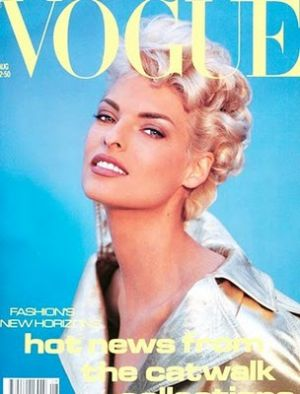 Vintage Vogue magazine covers - mylusciouslife.com - Vogue Cover Aug91 - linda.jpg