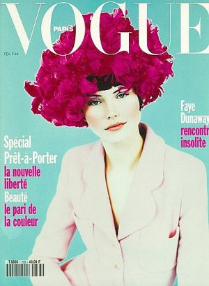 Vintage Vogue magazine covers - wah4mi0ae4yauslife.com - Vogue Paris February 1993 - Janine Giddings.jpg