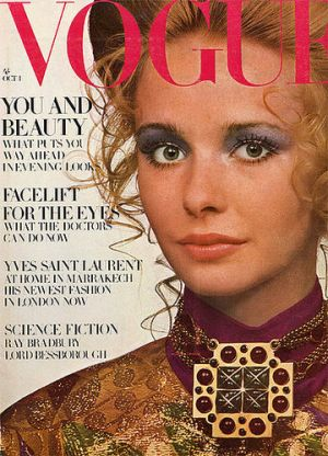 Vintage Vogue magazine covers - wah4mi0ae4yauslife.com - Vogue_UK_October_1_1969_-_Maudie_James.jpg