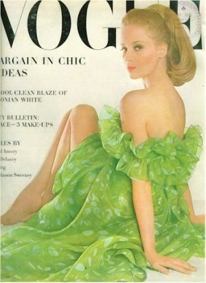 Vintage Vogue magazine covers - mylusciouslife.com - 1963_june_vogue_cover.jpg