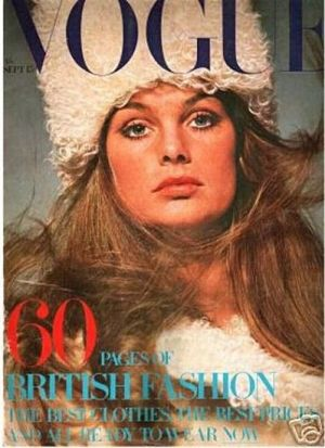 Vintage Vogue magazine covers - mylusciouslife.com - Vintage Vogue UK September 1969 - Jean Shrimpton.jpg