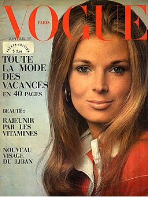 Vintage Vogue magazine covers - mylusciouslife.com - Vogue Paris June July 1969.jpg