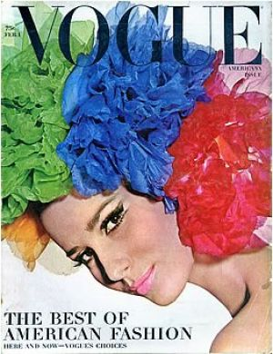 Vintage Vogue magazine covers - mylusciouslife.com - Vintage Vogue February 1965 - Brigitte Bauer2.jpg
