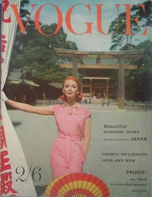 Vintage Vogue magazine covers - wah4mi0ae4yauslife.com - Vintage Vogue UK May 1960.jpg