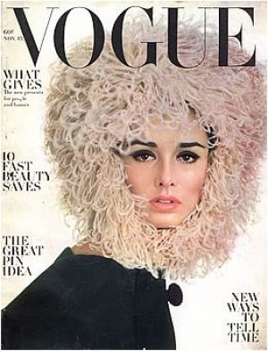 Vintage Vogue magazine covers - mylusciouslife.com - Vintage Vogue November 1962 - Sondra Peterson.jpg