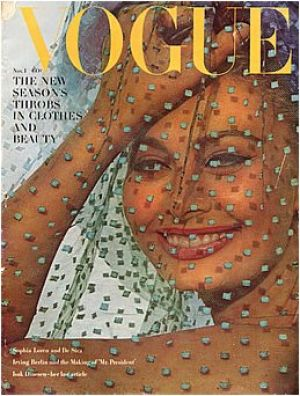Vintage Vogue magazine covers - wah4mi0ae4yauslife.com - Vintage Vogue November 1962 - Sophia Loren.jpg