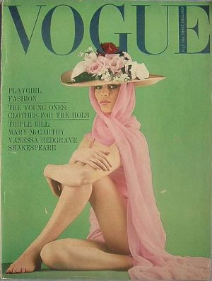 Vintage Vogue magazine covers - mylusciouslife.com - Vintage Vogue UK July 1964.jpg