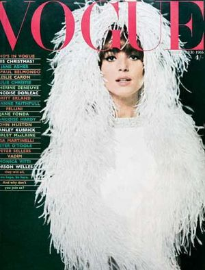 Vintage Vogue magazine covers - mylusciouslife.com - Vintage Vogue UK December 1965_-_Elsa_Martinelli.jpg