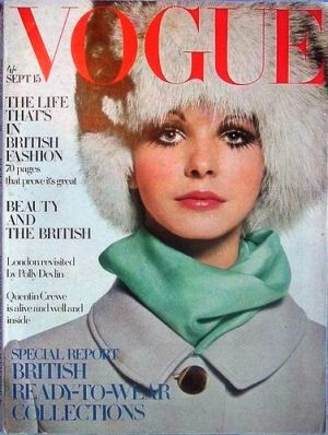 Vintage Vogue magazine covers - wah4mi0ae4yauslife.com - Vintage Vogue UK September 1968-Maudie James.jpg