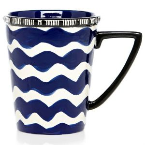 Duro Olowu for JC Penney - Duro Olowu for jcp Coffee Mug Blue.jpg
