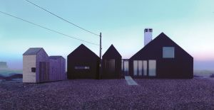 Shingle House in Dungeness by NORD Architecture black wooden exterior.jpg