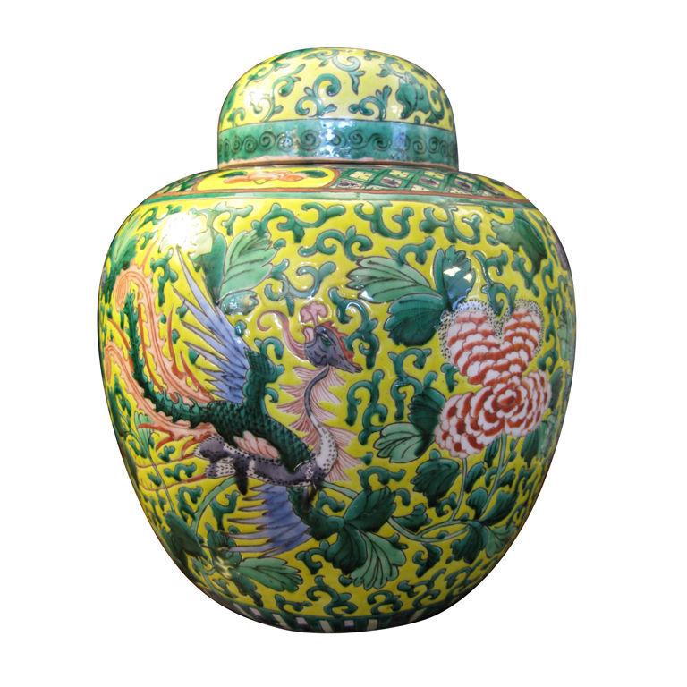 stylish home ginger jars and other ceramics. Black Bedroom Furniture Sets. Home Design Ideas