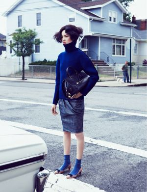 Fei Fei Sun by Lachlan Bailey for Vogue China September 2012